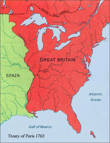 Imperial Context of North America after the 1763 Treaty of Paris